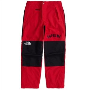 NEW Supreme The North Face Gortex Pants, XL
